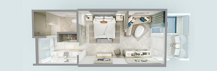 Deluxe Luxury Suite with Private Pool - ADA, Florida of H2O Suites