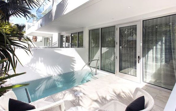 H2O Suites Hotel, Key West Deluxe Luxury Suite with Private Pool - ADA