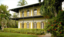 Ernest Hemingway Home in Key West, florida
